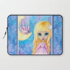 Castle Dreams Girl Laptop Sleeve