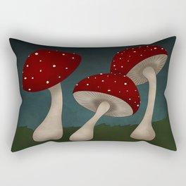 Mushrooms! Rectangular Pillow