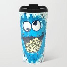 Cookie Monster (Splat) Travel Mug