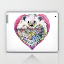 HedgeHog Heart by Michelle Scott of dotsofpaint studios Laptop & iPad Skin