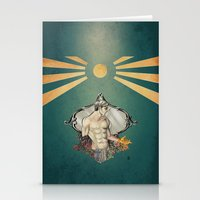 saturn Stationery Cards featuring Saturn by For-the-Saba