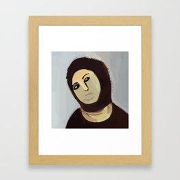 Ecce Homo jesus borja paintings Framed Art Print
