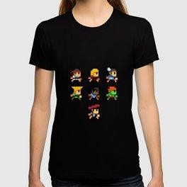 Minimalistic - Street Fighter - Pixel Art T-shirt