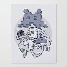Videofoto Canvas Print