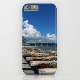 Drawbridge Over Longboat Pass iPhone Case