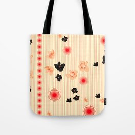 spotted blooms Tote Bag