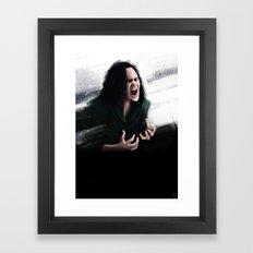 Trust my rage Framed Art Print