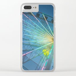 You spin me round round' Clear iPhone Case