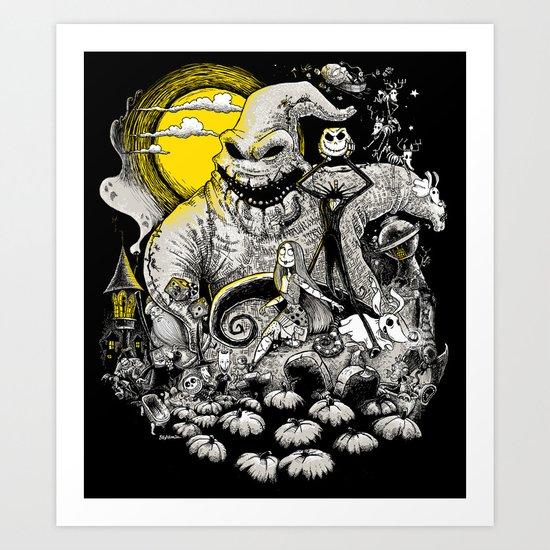 Nightmare! Art Print