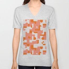 Puzzle Tiles #society6 #pattern Unisex V-Neck