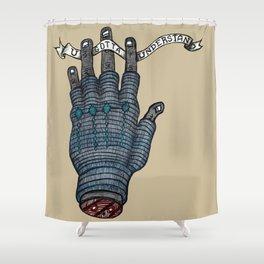 Understand Hand Shower Curtain