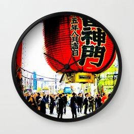 Japan - Tokyo Senso-ji Temple Wall Clock