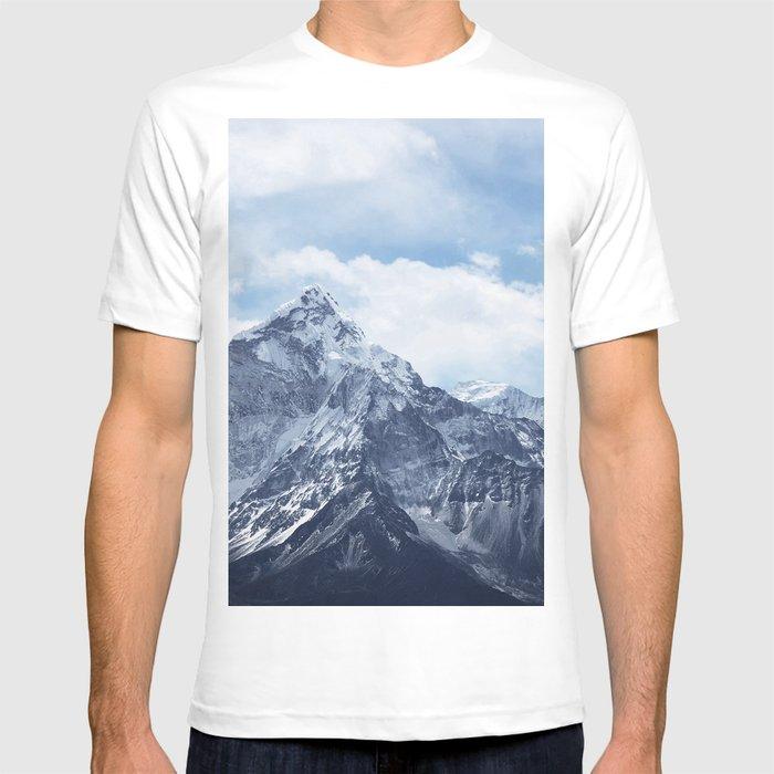 Snowy Mountain Peaks T-shirt