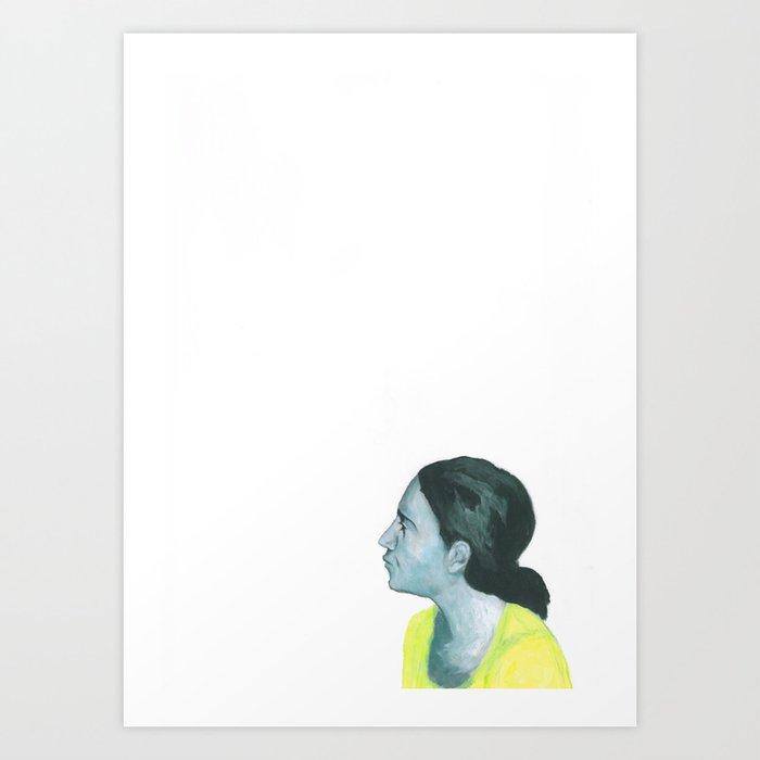 Au travail 4 Art Print