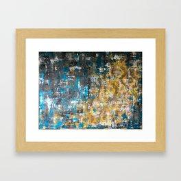 Get your hands dirty Framed Art Print