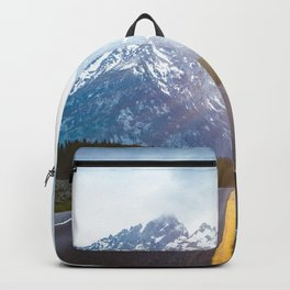 Mountain Road - Grand Tetons Nature Landscape Photography Backpack