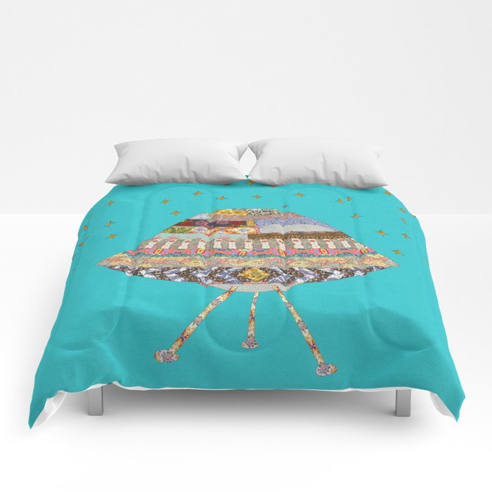 My Spaceship Will Come Comforters