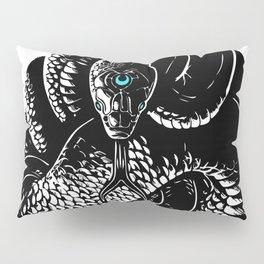 Snake Meditation Pillow Sham
