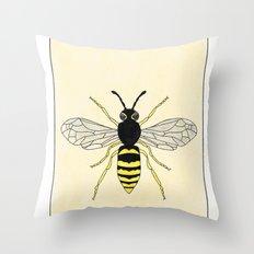Hornet Throw Pillow