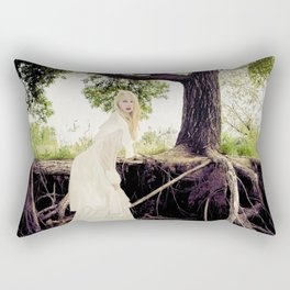 The Water's Bride Rectangular Pillow