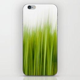 Grass wipe --- Gras-Wusch iPhone Skin