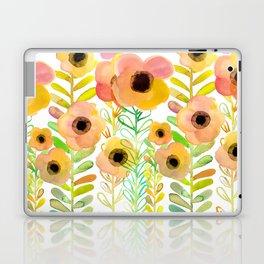Peony field Laptop & iPad Skin
