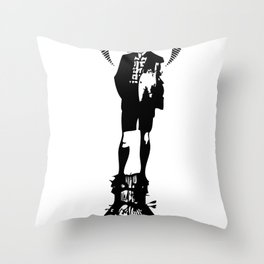 there're new worlds inside me Throw Pillow
