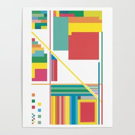 Collected Colors Poster