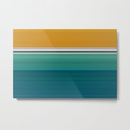 Swimming Pool Abstract Metal Print