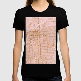 Kansas city map T-shirt