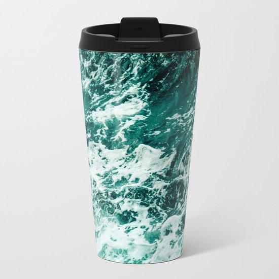 Wild sea II Metal Travel Mug