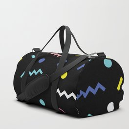 Memphis Pattern 19 - Party / 80s Retro Duffle Bag