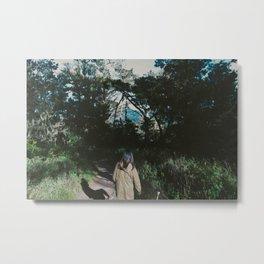 In the woods Metal Print