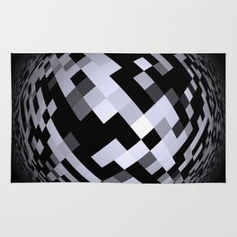 black-and-white -05- Rug
