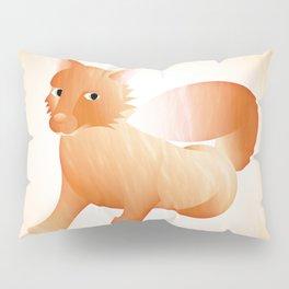 Red Little Fox (Full) Pillow Sham