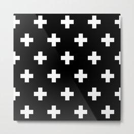 Swiss Cross V3 Metal Print