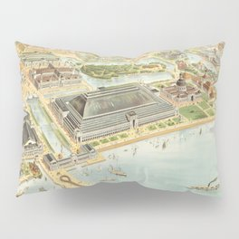World Columbian Exposition in chicago 1893 Pillow Sham