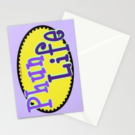 Phun Life Yellow Stationery Cards