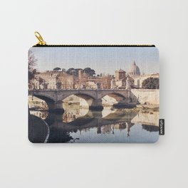 Reflections of Rome in the Tiber Carry-All Pouch