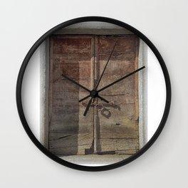 OLD DOOR 01 Wall Clock