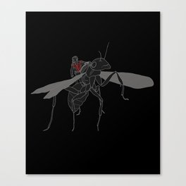 Ant-man & Anthony Canvas Print