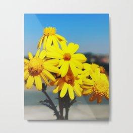 Natural flower wall decor,Living room decor,Home decor Metal Print