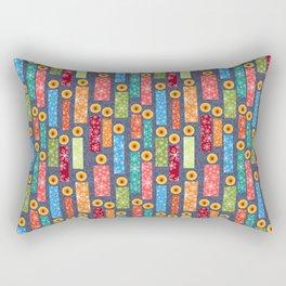 Snowflake Solstice: Be the light Rectangular Pillow