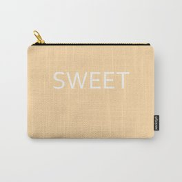 Sweet apricot gelato Carry-All Pouch