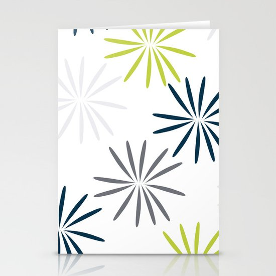 Simple Flower Stationery Cards