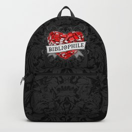 Bibliophile Heart Backpack