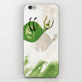 Lettuce Woman iPhone Skin