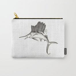 Surfing the fish Carry-All Pouch