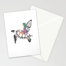 Fairy/ Turtle Stationery Cards