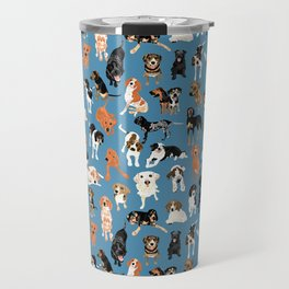 Hound District blue Travel Mug